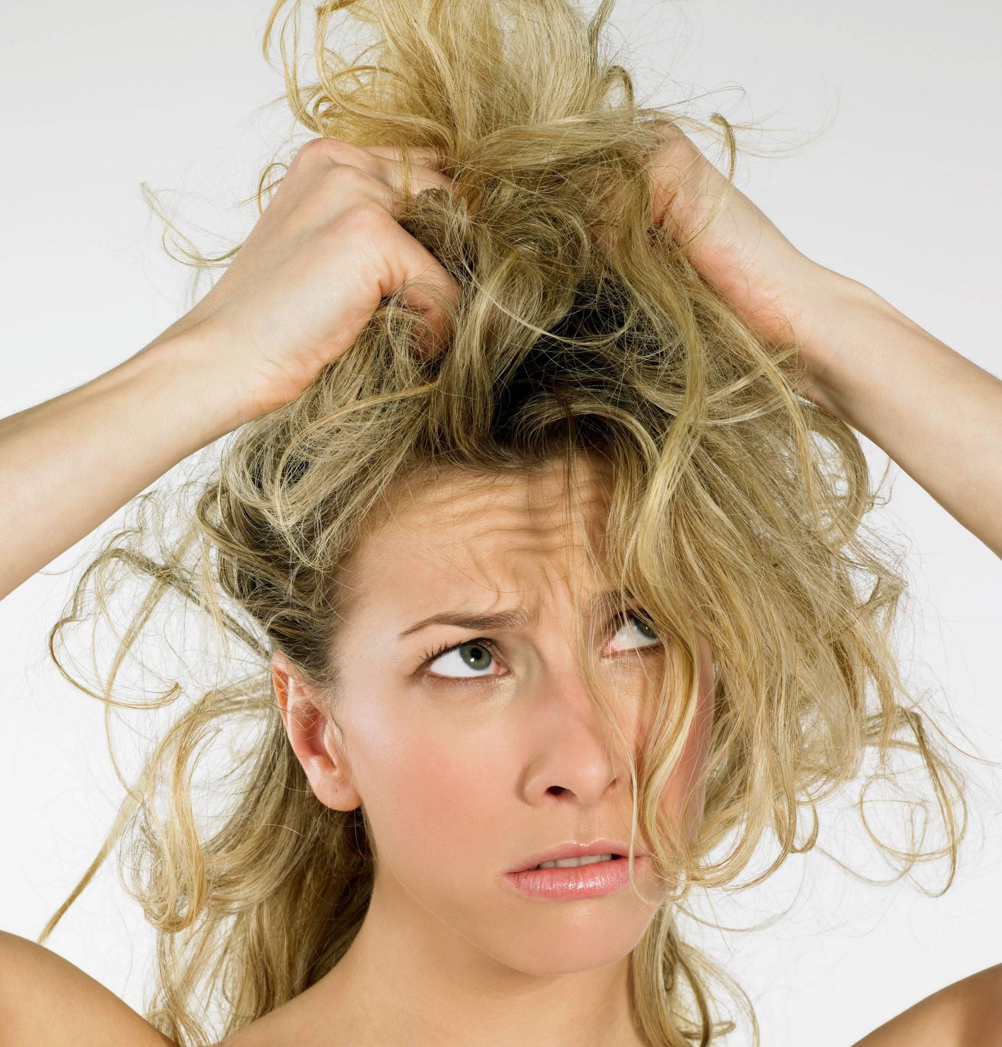 capelli danneggiati dal sole