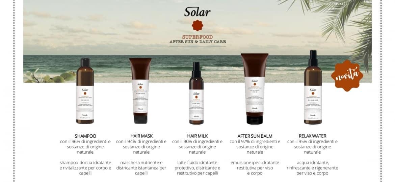Solari per capelli Solar Superfood