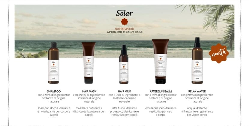 Solari per capelli Solar Superfood