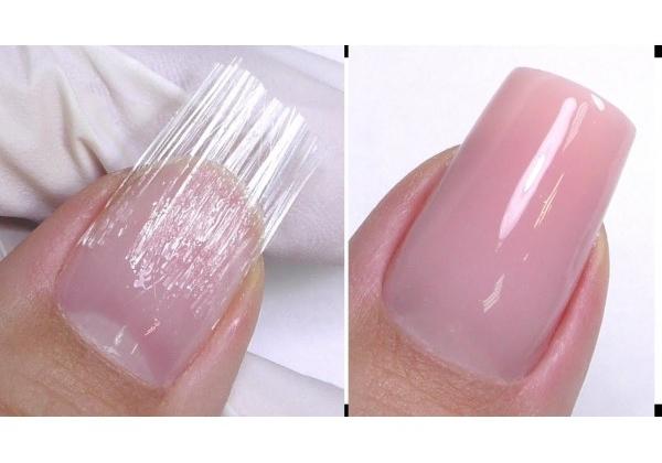 fibre di vetro per unghie